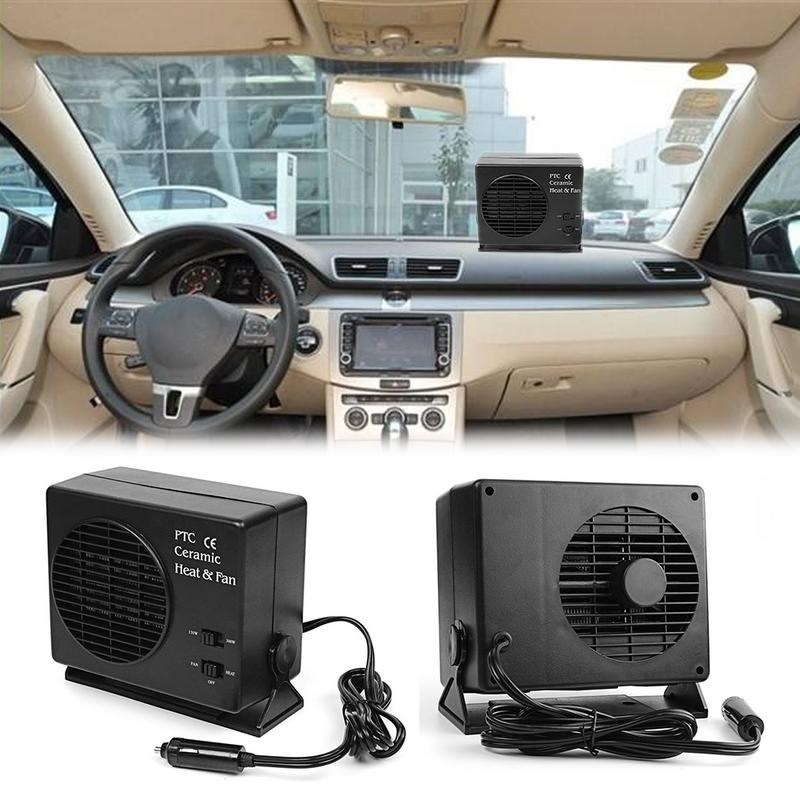 12-volt Portable Appliances Air Intake Systems 300w Car Portable Ceramic Heating Cooling Heater Fan Defroster Demister Dc 12v