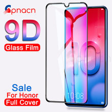 9D Protective Glass on the For Huawei Honor 10 Lite V10 V20 Screen Protector For Honor 9 8 Lite V9 Play Tempered Glass Film Case(China)