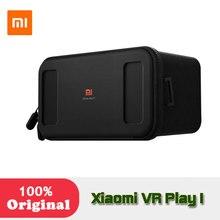 Оригинал Сяо Mi VR коробка виртуальной реальности 3D очки картона погружения для 4.7-5.7 дюйм(ов) смартфонов