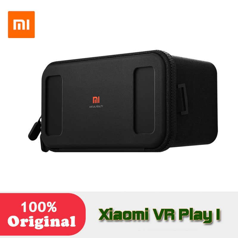 Original Xiaomi Mi font b VR b font Box Virtual Reality 3D Glasses Cardboard Immersive For