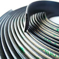 5 Meters Waterproof 3M Rubber Sealed Strips Trim For Auto Car Front Rear Windshield Sunroof Triangular Window