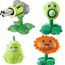 Plush-Toy Peashooter Zombies Stuffed-Doll Sunflower 30cm-Plants Soft Vs 2-Gatling Squash