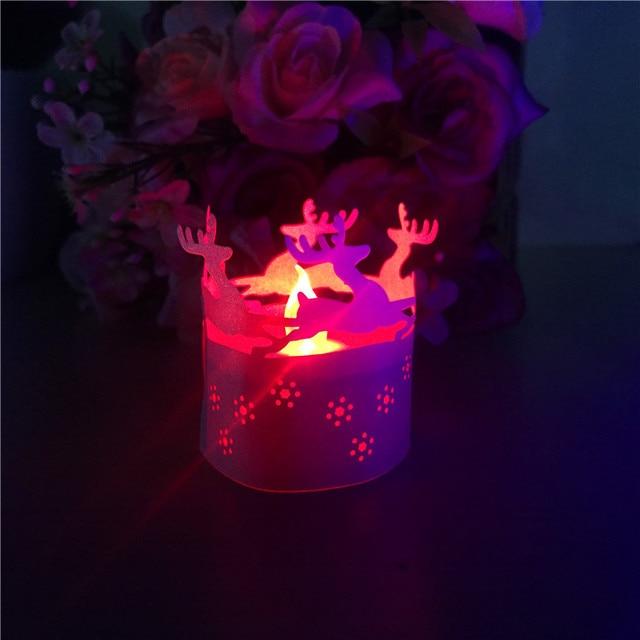 HAPPY BIRTHDAY Candle Bag Luminaries Lantern For Birthday Partyonline Decal Flower Paper Spot Tea Light Holders