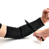 1 Pair Steel Wire Cut Proof Arm Sleeve Guard Bracer Anti Abrasion Armband Protector Anti Cutting