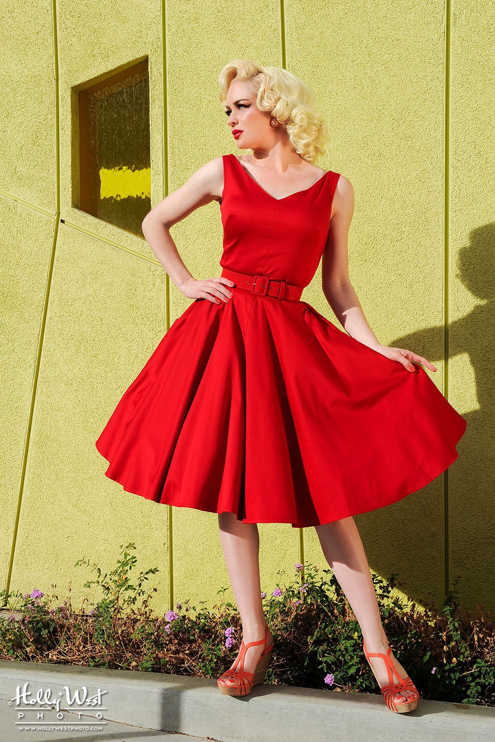 Havana Nights Dress Pinup Style 1950s Retro Party