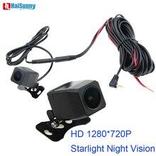Заднего вида Обратный DVR камера 4 Pin кабель 2,5 мм Jack водостойкий HD 1280*720 P звездный свет; ночное зрение для DVR видео регистраторы