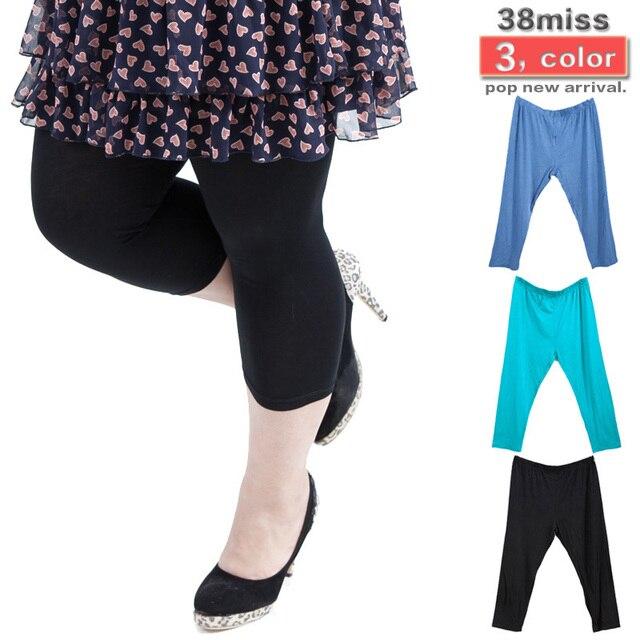 b011d9f73d0e6 Promotion Womens Plus Size Capri Pants Candy Leggings Summer 2012 ...