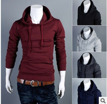 Free Shipping 2016 New fashion Winter&Autumn Men's Brand Hoodies Sweatshirts Casual Male Hooded Jackets wy03