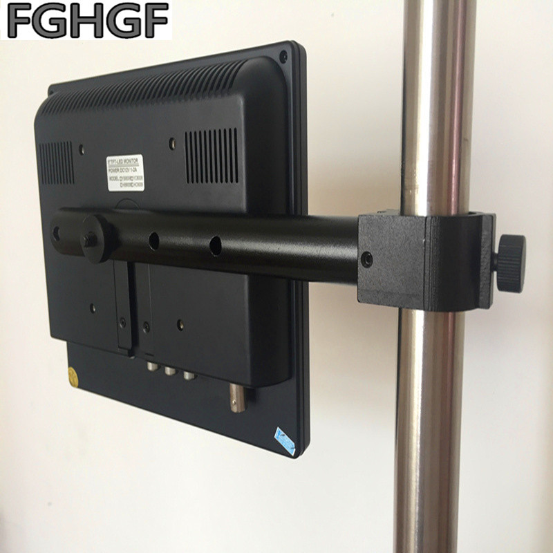 FGHGF 8-inch display for microscope With screen stand 27mm aperture 32mm Electron microscope screen Video digital  Hanging rodFGHGF 8-inch display for microscope With screen stand 27mm aperture 32mm Electron microscope screen Video digital  Hanging rod