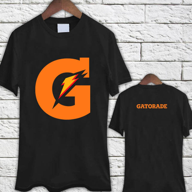 c3333cd5483 Shirts Trend Clothing Crew Neck Gatorade Drinks G Y M Workout Black Tee  Shirt Short Sleeve Office Mens Tee 100% cotton T-Shirt