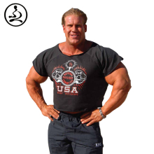 Bodybuilding Rag Tops For Men Golds  TShirts Fitness Undershirt NPC OLIMP Vest Weightliting Tank Top High Quality