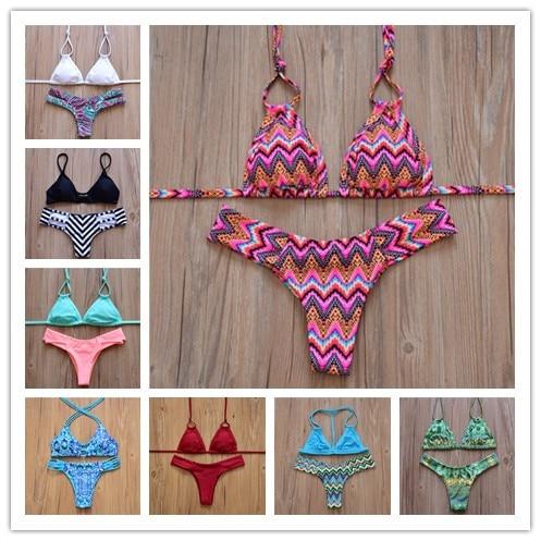 2016 bandage sexy brazilian bikini bikinis women swimsuit biquini bathing suit push up swimwear. Black Bedroom Furniture Sets. Home Design Ideas