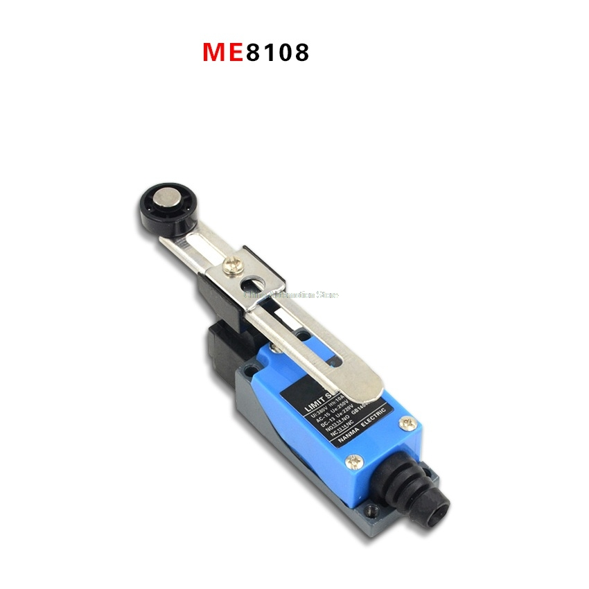 New Waterproof ME-8108 ME8108 Momentary AC Limit Switch For CNC Mill Laser Plasma professional electrical switches dustproof rotary roller lever limit switch overtravel limit for cnc mill laser plasma me 8108