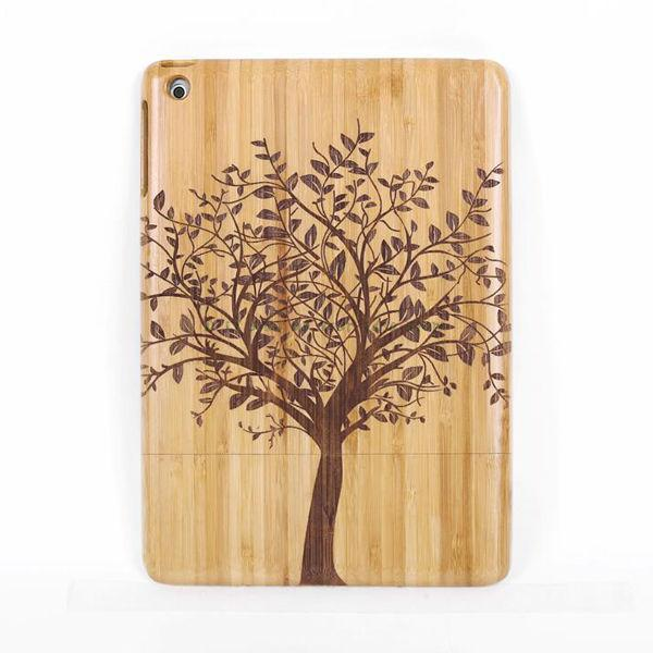 Tree Natural Wood Bamboo Hard Case Back Cover for iPad Air/For iPad 2 3 4/For iPad 6/Drop Shipping Festival Gifts