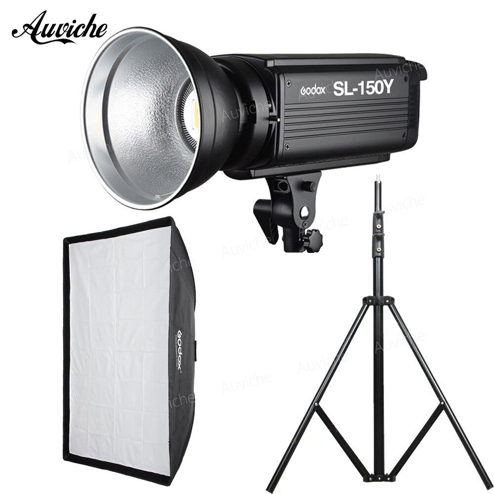 GODOX SL 150Y SL150Y 3300K Studio LED Video light Fill light Photography lights kit for Child portrait product photography video
