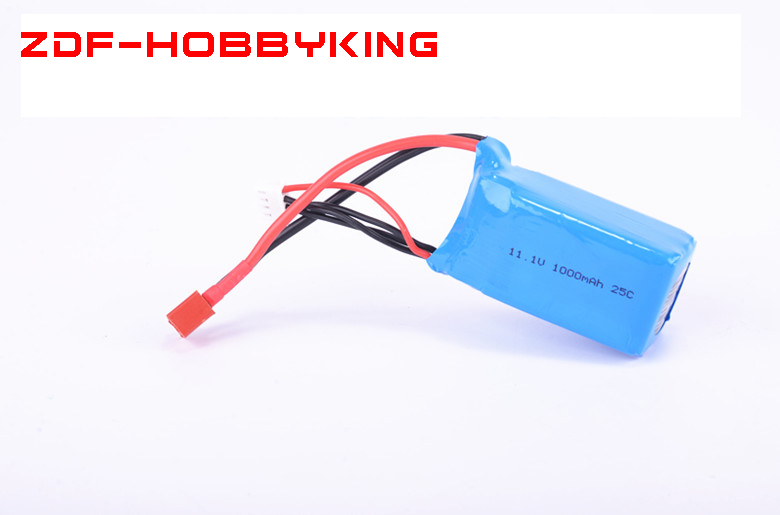 2018 New ZDF 11.1V <font><b>1000mah</b></font> <font><b>3S</b></font> 25C <font><b>Lipo</b></font> Battery for RC Helicopter Drone Airplane Quadcopter RC car Spare Parts image