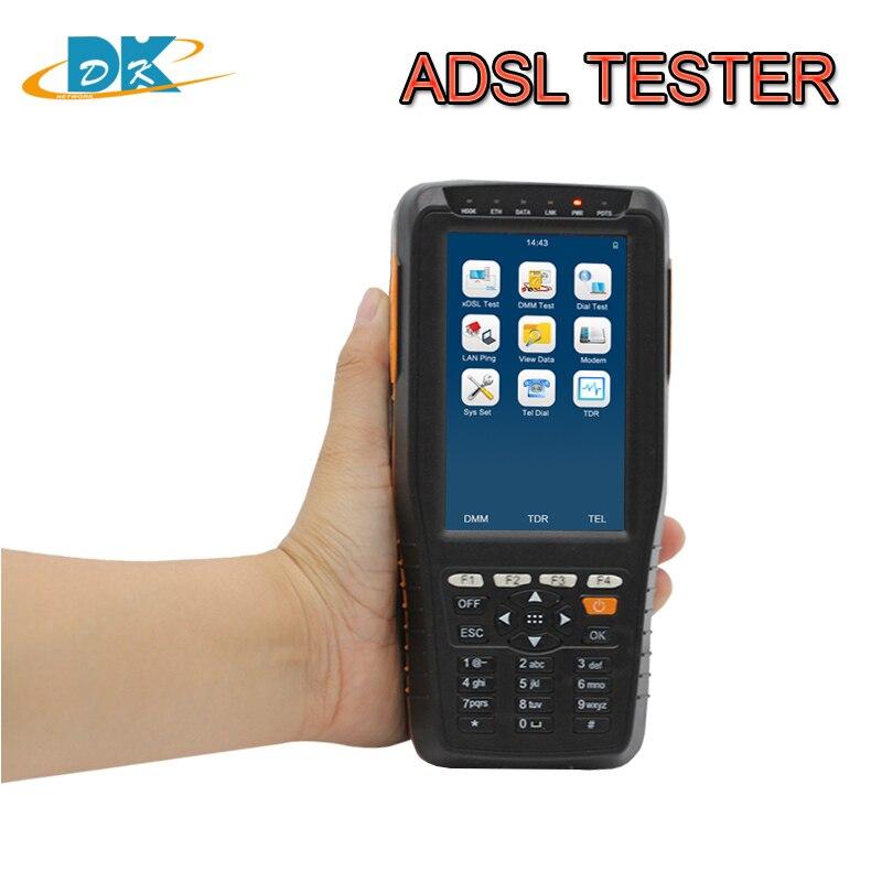 TM-600 ADSL2 + testeur ADSL ADSL2 + pour xDSL TM600 VDSL2 testeur ADSL pour test de ligne xDSL et outil de Maintenance DMM ADSL VDSL2