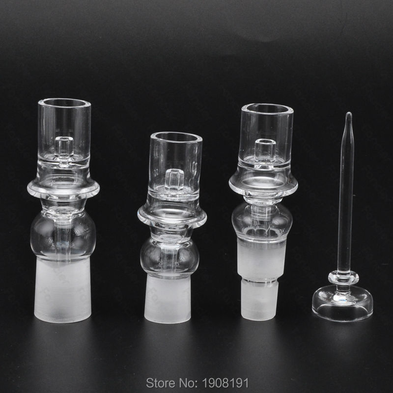 Quartz nail  14mm 18mm Male Female for heating coil for dabs dabber for glass bongs water pipe in stock 6