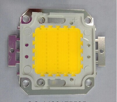 5PCS / LOT 30W warm white 30mil, flood light floodlight lamp beads, 30W high power LED integrated lamp beads