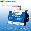 3 G GSM de Control remoto de relé GSM puerta abridor RTU5024W T / C paloma rey de apertura de puerta nueva versión de puerta de Control remoto abrir