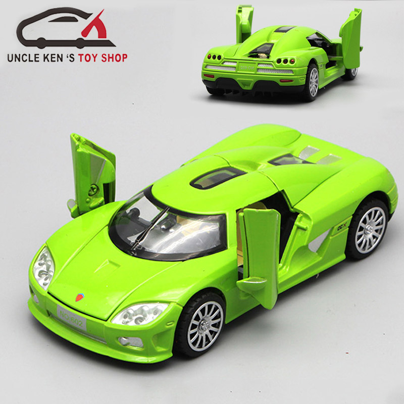 Koenigsegg Diecast Model Metal Toy, Alloy Car As Collection Gift With Functions