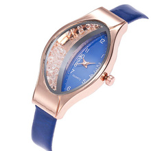 2019 Hot Sale New Best Selling Small Red Watch Female Models Fashion Elliptical Quick Sand Digital Ladies Quartz Watch Gifts все цены