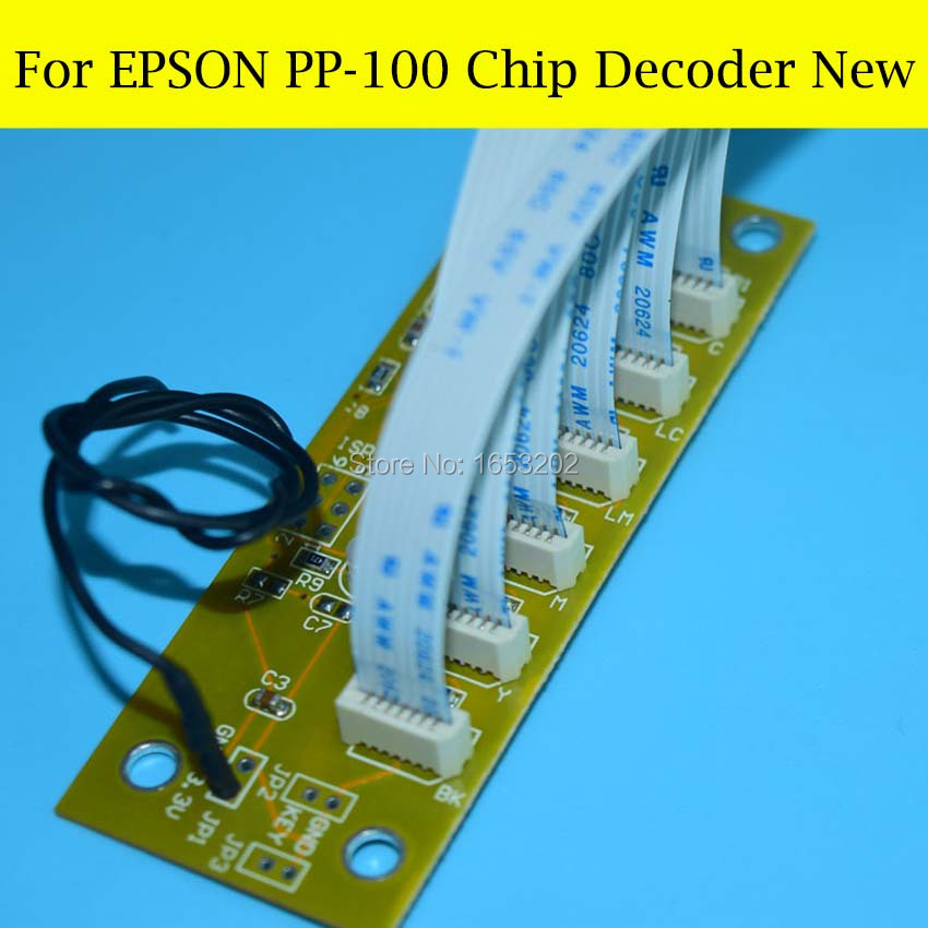 1 Set High Quality Chip Decoder For Epson PP-100 PP-100N PP-100AP Printer