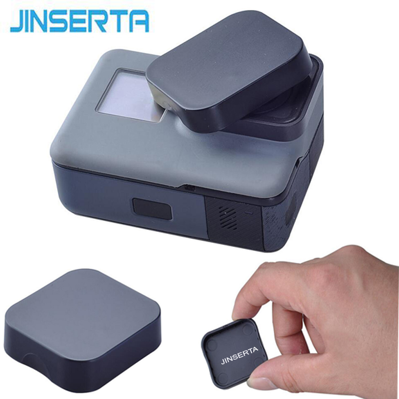 JINSERTA Black Plastic Lens Cap Cover For GoPro Hero 6 Black Edition Camera Go pro 6/5 Accessories Protector Case кристина бейкер клайн картина мира