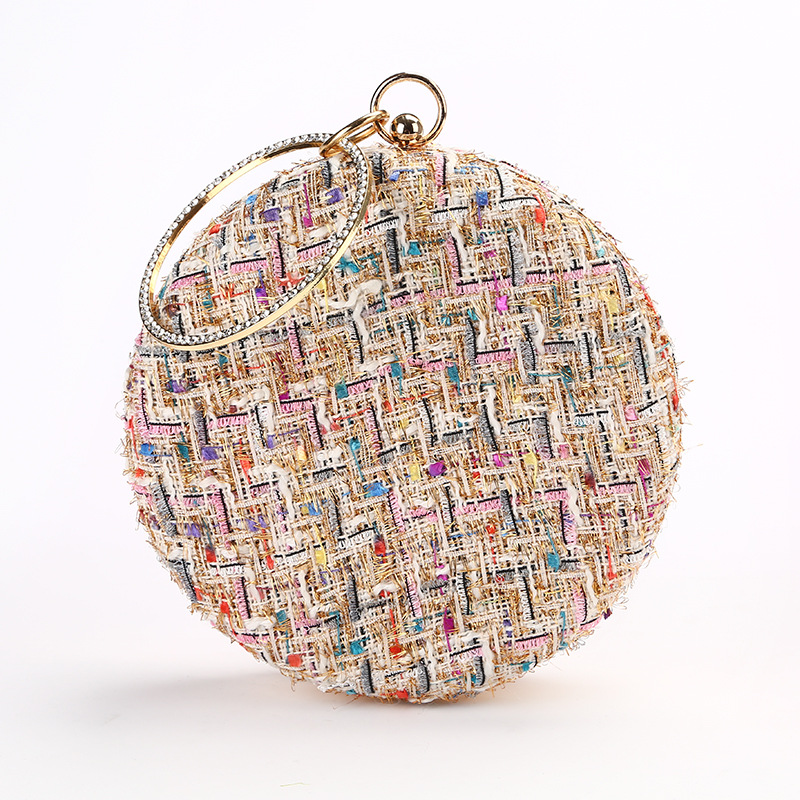 Andralyn Handmade Evening Bag Simple Banquet Bag Women Evening Clutches Bags Lady Wedding Bag Purse Female Party Clutch Day new stone women elegant evening bag with diamond bag lady beachstone banquet bag minaudiere female day clutch wedding party
