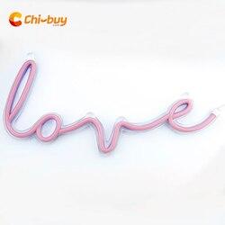 CHIBUY LOVE Led Neon Sign Neon Light sign Wall decor light Home Decor gift