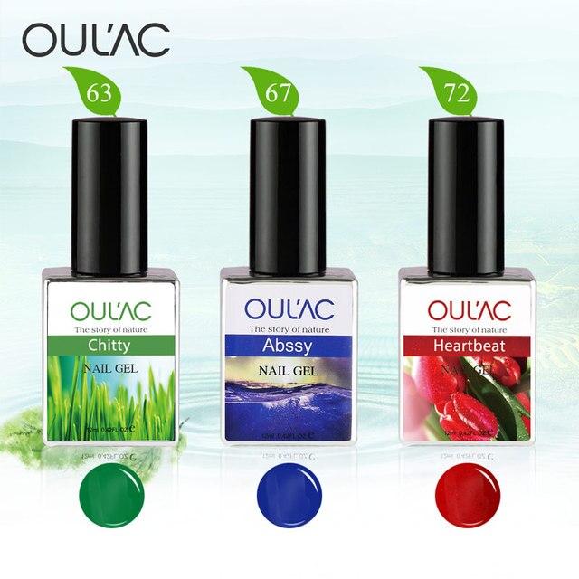 Oulac UV Gel Polish Fashion Nail Art High Quality Gel Lacquers