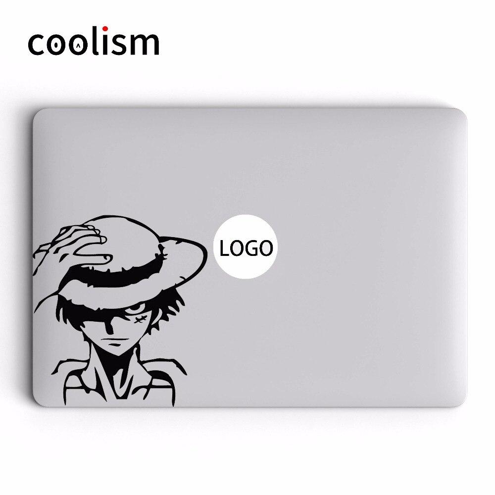 One Piece Captain Luffy Vinyl Laptop Decal for Apple MacBook Sticker Air 13 Pro Retina 11 12 15 17 inch Mac Mi Book Skin Sticker