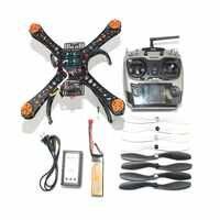 Plein bricolage Mini Drone de course Racer 310 cadre en fibre de verre Multicopter MICRO F3 contrôleur de vol AT9 FS i6 émetteur F14891 H