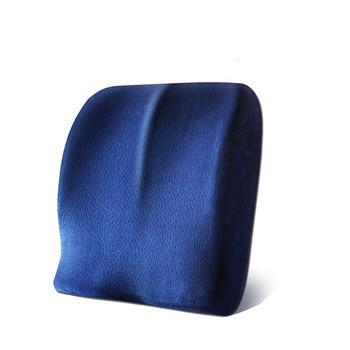 Sofakissen Schaum | 4 Farben Memory Foam Kissen Wirbelsäule Steißbein Schützen Orthopädische Auto Sitz Büro Sofa Stuhl Zurück Kissen Taille Lenden Matte
