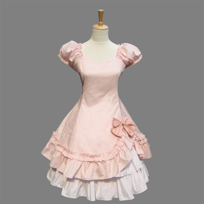 Sweet Pink Lolita OP Dress Sweet Lolita Dresses