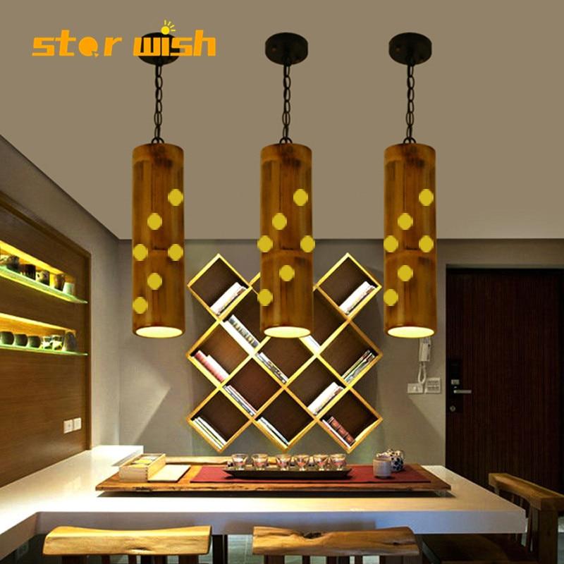 Nordic base de madeira candeeiro mesa pano