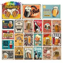 Moura colour The Beer Prayer Vintage Metal Tin Sign Retro Bar Home Pub Shop Wall Decor