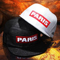 Bordado PARIS carta snapback bonés para homens hip hop do boné de beisebol de prata mulheres meninas chapéus osso gorras casquette touca