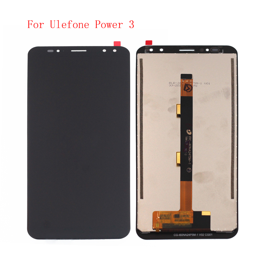 High Quality For Ulefone Power 3 LCD Display Touch Screen Digitizer Assembly With Free Tools