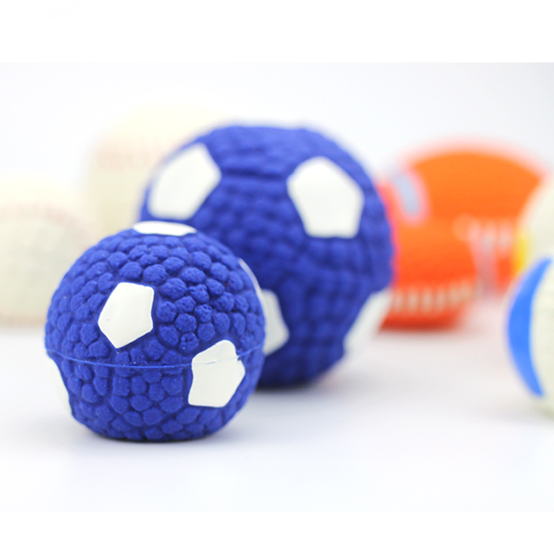 Adidog Dog Pet Rubber Pinball Balls Toy For Small Dogs Interactive Volleyball Puppys Chew Play Toys Cachorro Pet Supplies