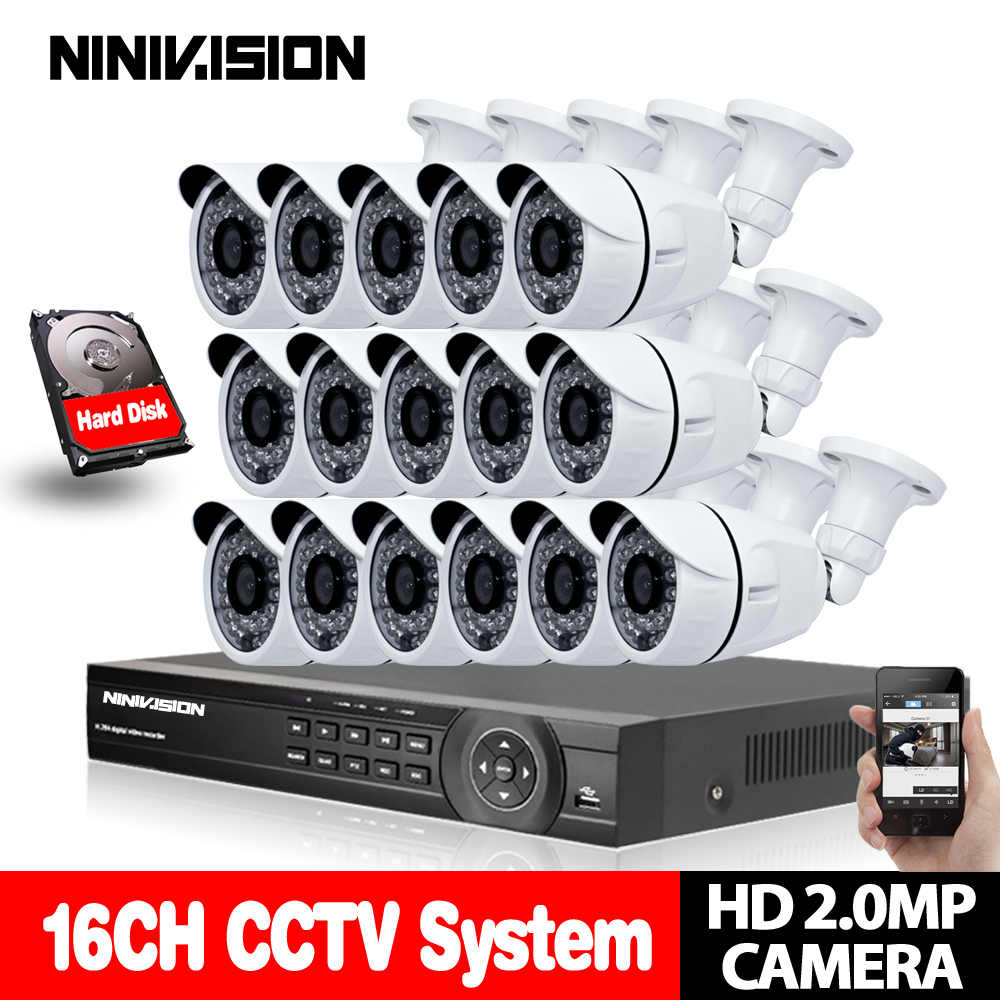 Home 16CH CCTV DVR System AHD DVR 1080P 2.0 Megapixels Enhanced IR Security Camera 3000TVL CCTV Camera Security System 4TB HDDHome 16CH CCTV DVR System AHD DVR 1080P 2.0 Megapixels Enhanced IR Security Camera 3000TVL CCTV Camera Security System 4TB HDD