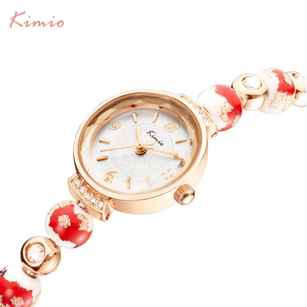 2017 New Arrival Time-limited Ladies Watches Kimio Rose Gold Women Ceramic Bracelet Watch Strap Dress Relogio Feminino цена