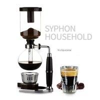 MICCK Syphon Pots Coffee Kettle Pot 3Cups/ 5Cups Coffee Maker Classic Glass Siphon Pot 3 Person Plug Pitcher Milk Jug