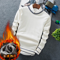 2016 Men Sweater High Quality Men Pullover Winter Plus Velvet Pullover Sweater Men Plus Size New Men Casual Sweater Hot Sale