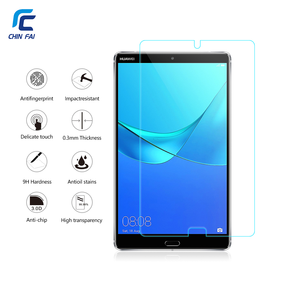 9H Tempered Glass Protector for Huawei MediaPad M5 8.4 Tablet Ultra-thin Clear Film Screen Protector For MediaPad M5 10.8 inch