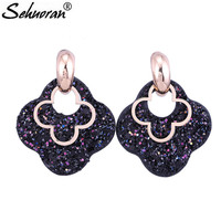 Sehuoran Drop Earrings For Woman
