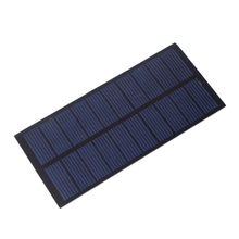 Solar Panel Module DIY 5V 300mA 1.5W DC Batteries Sun System for Cell Charger Toy #69408