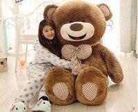 Коричневый мишки, Боути медведь большой 160 см улыбка медведь плюшевые игрушки обниматься удивлены подарок на день рождения h982
