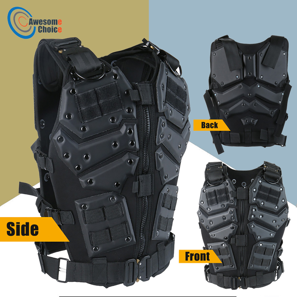 Airsoft TF3 Tactical Vest CS Paintball Protective Tactical Vest Waistcoat with 5 56 Magazine Pouches for