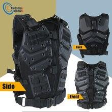 Airsoft TF3 טקטי Vest CS פיינטבול מגן טקטי אפוד חזייה עם 5.56 מגזין עבור חיל JOE
